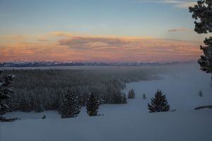 C-0508 Sunrise, Yellowstone National Park